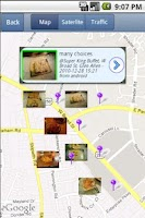 Screenshot of NearbyFeed Friend, Place