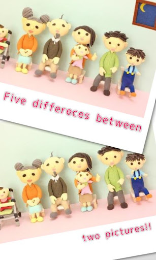 Find Differences - Clay models