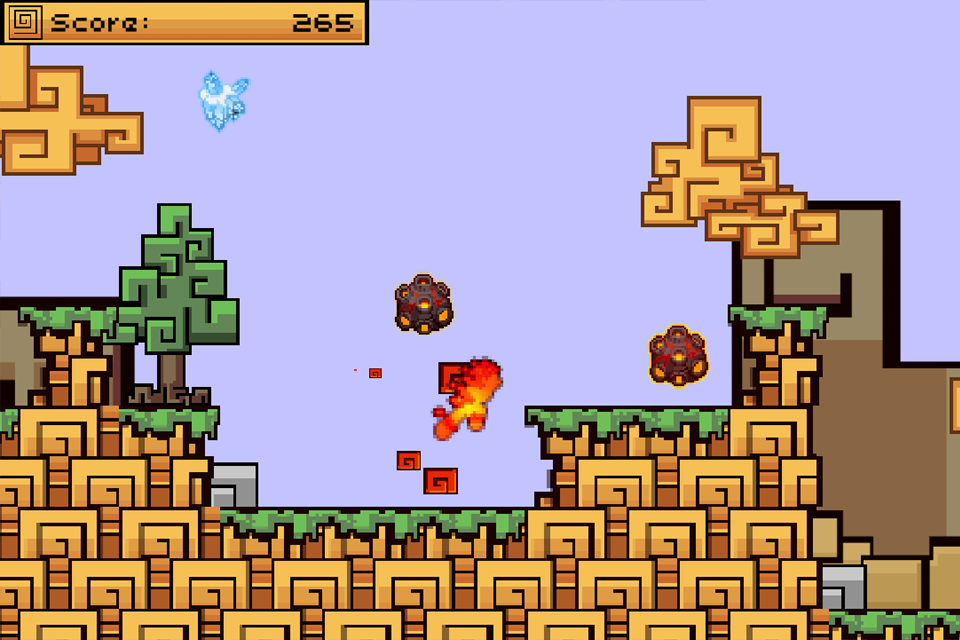 Spirit Run – Fire vs Ice- screenshot