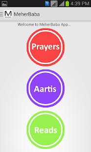 Meher Baba App - náhled