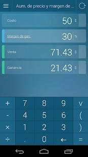 Calculadora de porcentajes Screenshot