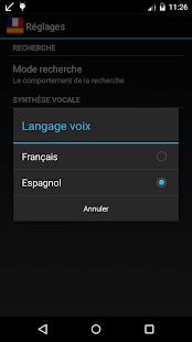 Offline Spanish French Dict. - screenshot thumbnail