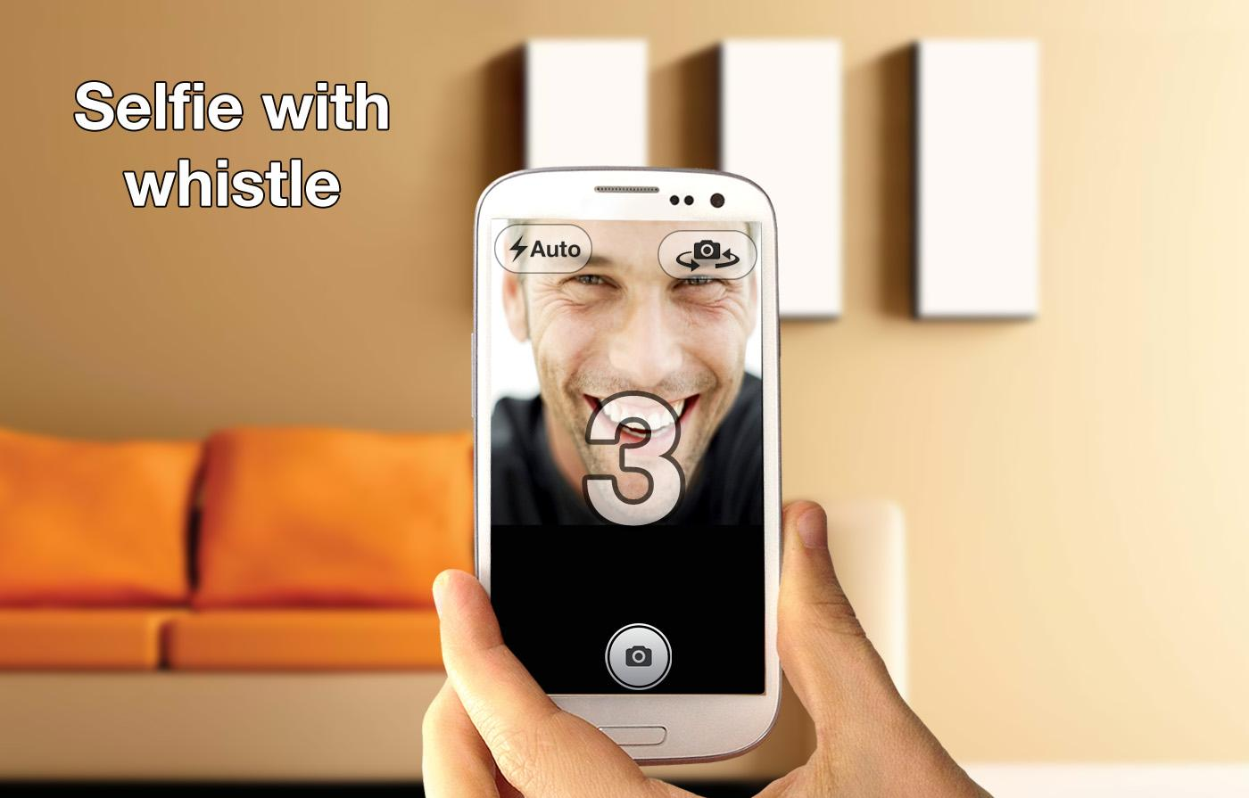 Whistle Camera - Selfie & More - screenshot