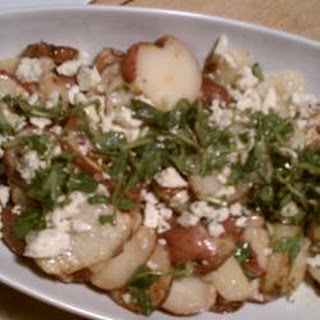 Warm Dijon Potato Salad