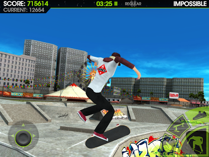 17 Skateboard Party 2 Lite App screenshot