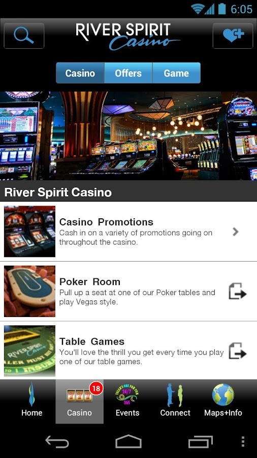 River spirit casino general manager