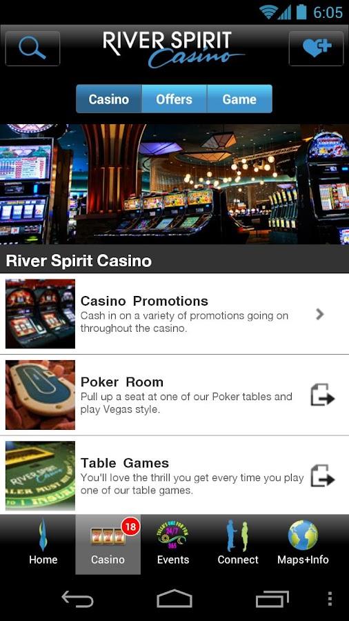 River spirit casino general manager