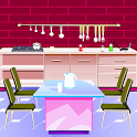 Pink Kitchen Escape Games icon
