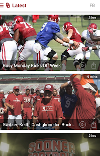 SoonerSports2Go- screenshot thumbnail