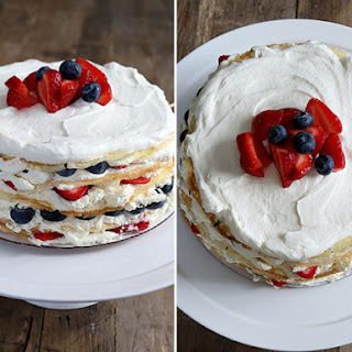 Easy Gluten Free Crepe Cake.