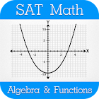 SAT Math : Algebra & Functions icon