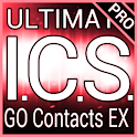 Red ICS GO Contacts Theme logo