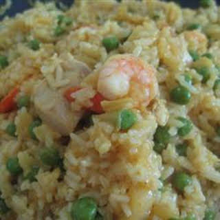 Curry Pineapple Fried Rice.