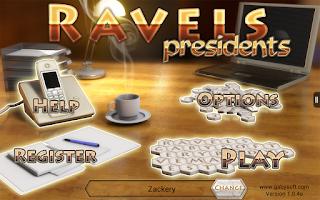 Screenshot of Ravels - Presidents