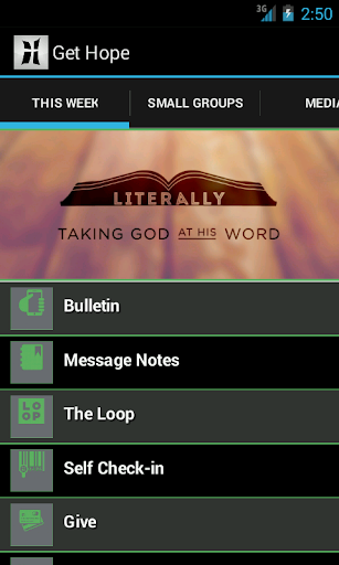 Hope Community Church App