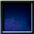 Animated Starry Sky LWP icon