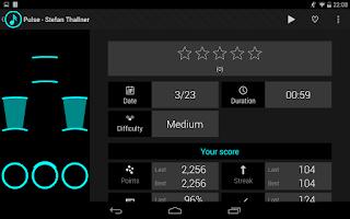 Screenshot of Neon Rhythm