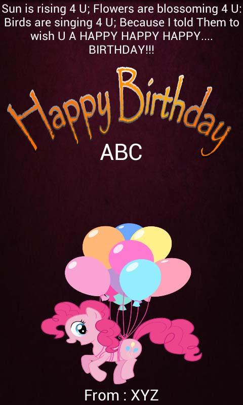 birthday card maker  google play store revenue  download, Birthday card