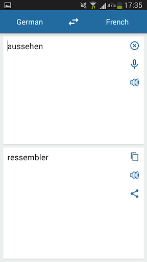 德语法语翻译