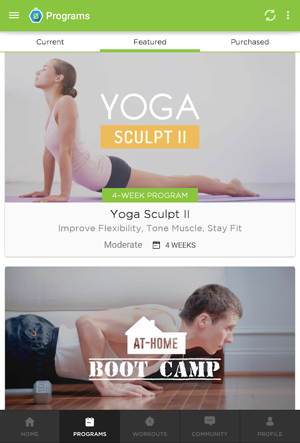 Workout Trainer- screenshot
