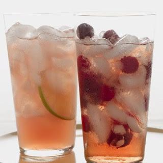 Cranberry-Grapefruit Sparkler.