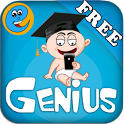 Genius Baby Flashcards 4 Kids icon