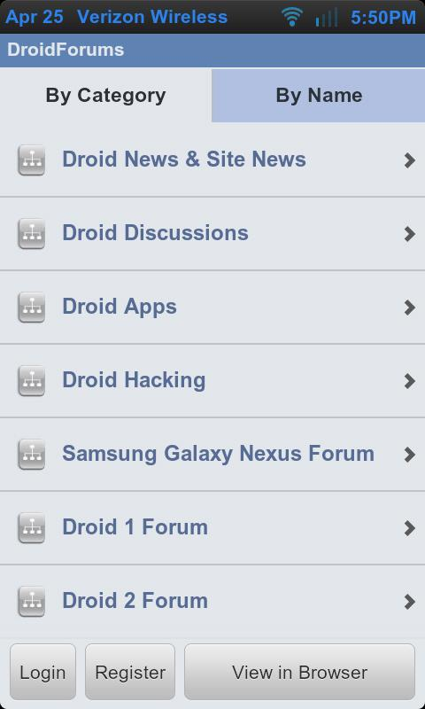 Droid Forums - screenshot