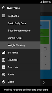 Gym Workout Log Book- screenshot thumbnail