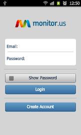 Monitor.Us Mobile - Android Screenshot 1