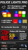Screenshot of Police Lights Pro
