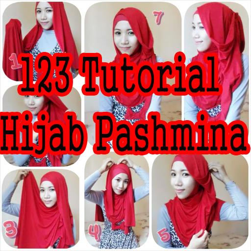 123 Tutorial Hijab Pashmina