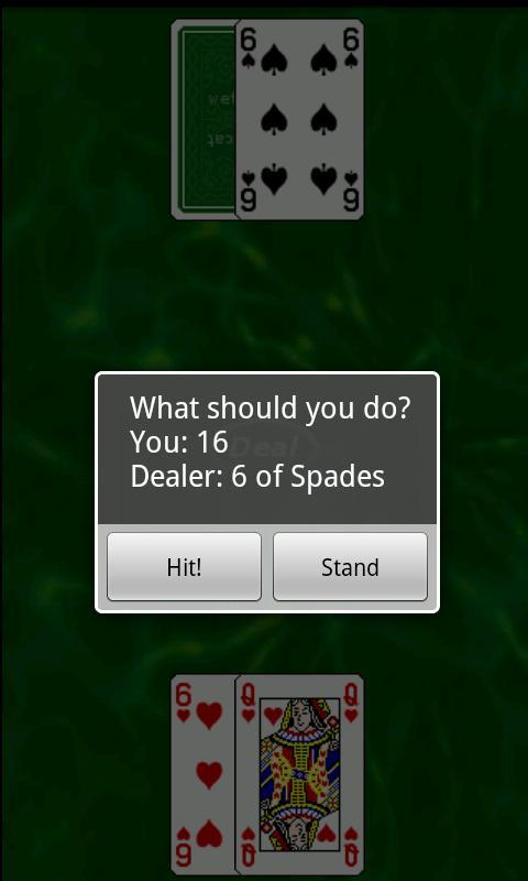 Black Jack Trainer- screenshot