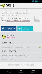 Zumba Fitness - screenshot thumbnail