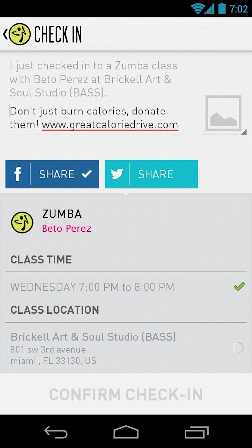 Zumba Fitness - screenshot