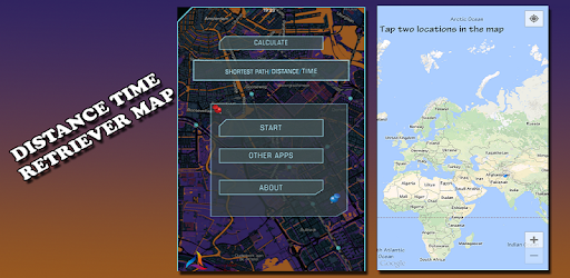 Distance time retriever map apps on google play gumiabroncs Gallery