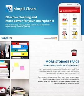 simpli Clean BOOSTER & CLEANER for ANDROID - náhled