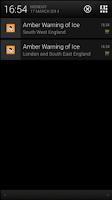 Screenshot of Met Office Weather