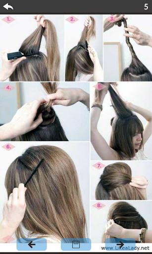 Girls hairstyle tutorials 9