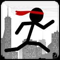 Line ninja runner logo
