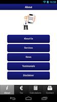 Screenshot of Tax Apps Ireland