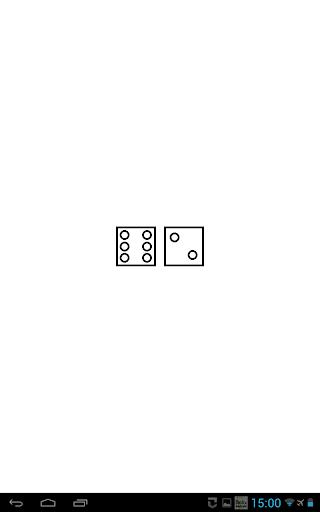 two simple dice - free App  screenshots 4