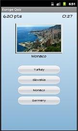 Europe Quiz Screenshot 4