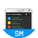 Note 4 Hidden Settings icon