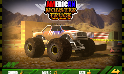 American Monster Truck Stunt