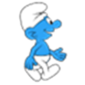 Smurf Walking Live Wallpaper!