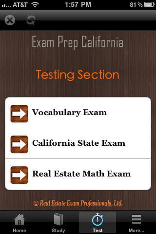 California Real Estate Exam CA- screenshot