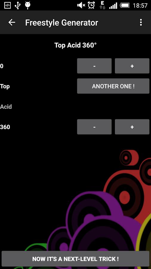 Freestyle Generator - screenshot