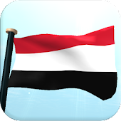 Yemen Flag 3D Free Wallpaper