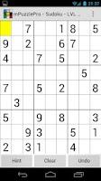 Screenshot of mPuzzle Pro