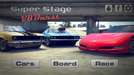 Super Stage: V8Burst